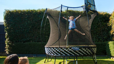 Springfree Trampolines are on a mission to get children outside and active.