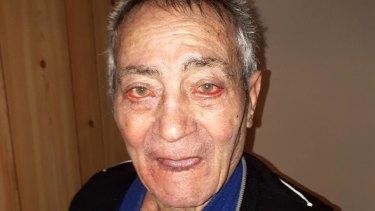 Luigi Di Sante.'s body was found on Sunday morning.