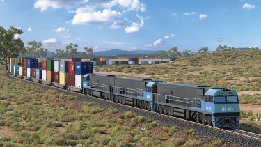 The Melbourne to Brisbane Inland Rail project will enable freight to be moved between the capital cities within 24 hours.