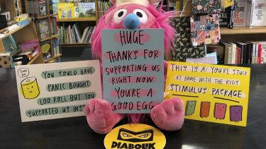 Diabolik thanks its customers.