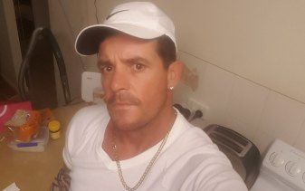 Jason Guise was reported missing two-and-a-half weeks ago by his sister. He was last seen in Wynnum on April 21.