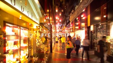GPT Group's Melbourne Central mall.