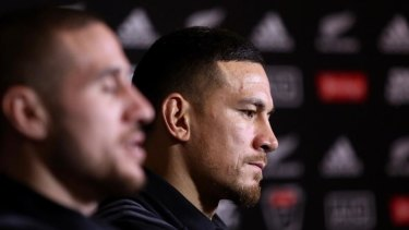 Busy man: Sonny Bill Williams has his hands full preparing to make his comeback from injury for the All Blacks.