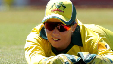 Top of her craft: Alyssa Healy.
