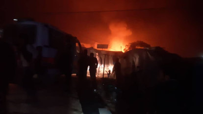 Children killed as Assad regime rains rockets on Idlib camp: activists