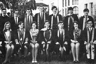 Kim Beazley, on UWA Guild's Council of Undergraduates in 1969, second from the left at the front.