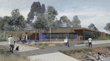 The design for the Point Grey precinct in Lorne.