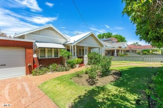 This Mount Hawthorn cottage recently sold at auction for $1.8m.
