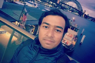 Bijoy Paul, a 27-year-old from Bangladesh, was killed in a road incident on southern Sydney on Saturday.