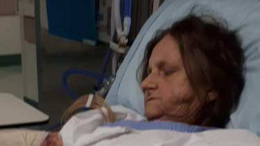Margaret Sutherland is in hospital in Redcliffe, with her family around her.