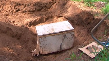The fridges were found during a second dig of the man's home.