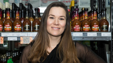 Bunster's sauce company founder Renae Bunster.