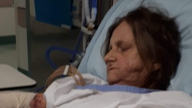 Mrs Sutherland was diagnosed with lupus, a chronic condition that began to affect her organs.