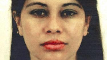 El Chapo's girlfriend Lucero Guadalupe Sanchez Lopez.