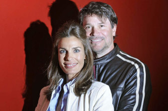 Actors Peter Reckell and Kristian Alfonso, better known as Bo and Hope Brady from Days of Our Lives.
