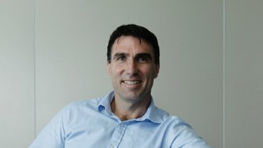 MYOB chief executive Greg Ellis was previously boss of REA Group and German real estate listings company Scout24.