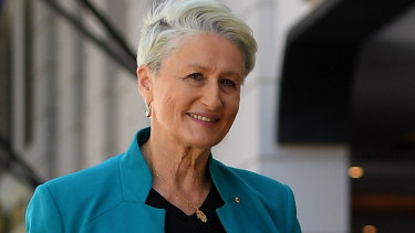 Kerryn Phelps in Double Bay on Friday morning.