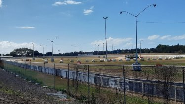 Mick Doohan Raceway, pictured in September 2020, is the home of North Brisbane Junior Motorcycle Club.