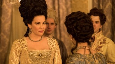 Liv Tyler stars in season two of Harlots.