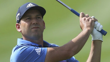 Sergio Garcia was disqualified for damaging greens at the Saudi International.