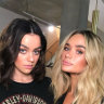 Bestfriends and former housemates, Madeleine Holtznagel and Indi Thew.