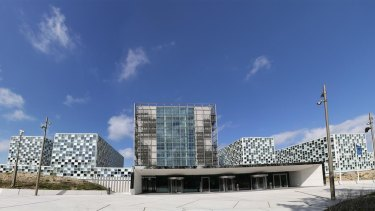 The International Criminal Court building in the The Hague
