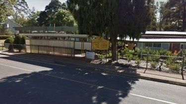 Tamborine Mountain State School, where the school's water bore has run dry.