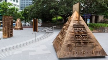 Brisbane's public art is a key part of the city's identity.