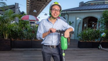 Lime's public affairs manager Nelson Savanh said users needed to respect the ride.