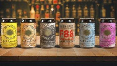 Spinifex Brewing's beer range.