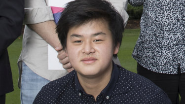 'They should probably be more careful with official documents,' HSC top achiever Alexander Yao said.