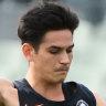 Injury concerns behind Carlton's Zac Fisher