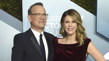 Tom Hanks and Rita Wilson will remain in hospital at the Gold Coast until they are cleared of symptoms.