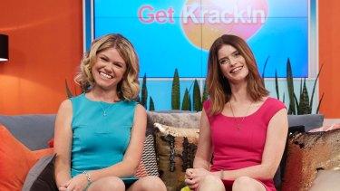Get Krack!n's Kate McLennan and Kate McCartney.