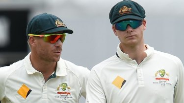 David Warner and Steve Smith have received 12-month bans from international and state cricket.