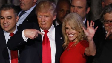 """I feel there's a part of him that thinks I chose Donald Trump over him,"" Kellyanne Conway says of her husband."