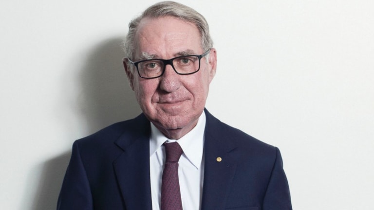 David Gonski at his Sydney office.