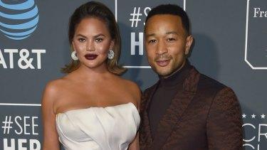 Beloved celebrity couple John Legend and Chrissy Teigen.