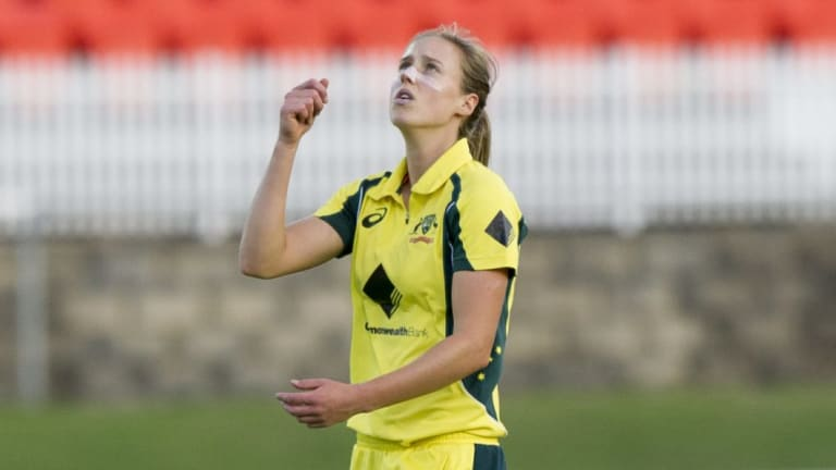 Ellyse Perry will play in Canberra in October.