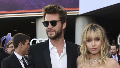 Miley and Liam practise the science of a celebrity breakup