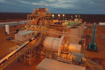 Gascoyne Resources' Dalgaranga gold mine and processing plant.