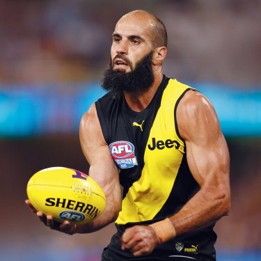 Despite eschewing boozy bonding sessions, Bachar Houli, pictured in last weekend's grand final, has been integral to Richmond's three recent premierships.