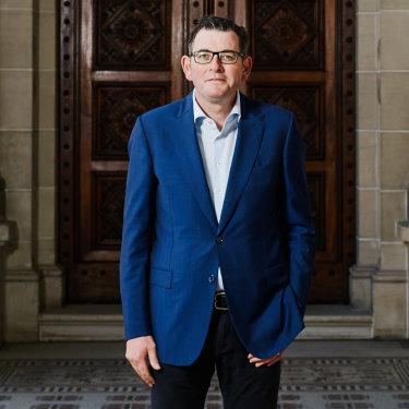 """Dan Andrews: """"When you're tested, it really does find you out…People are smart. You've got to be respectful and share your plans. And you need to believe in what you are saying."""""""