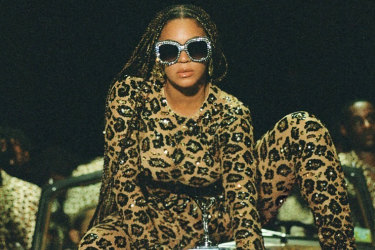 The Valentino catsuit Beyonce wears in Black is King reportedly took 300 hours to make.