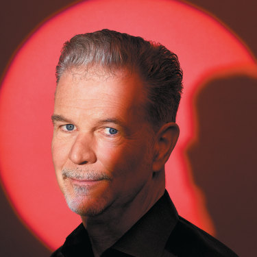 """Reed Hastings: """"You may not know what the threat is, but there's always threats out there."""""""