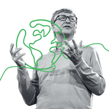 "Bill Gates: ""I hope I'm able to keep going in my present role  into my 70s and 80s, still learning new things."""