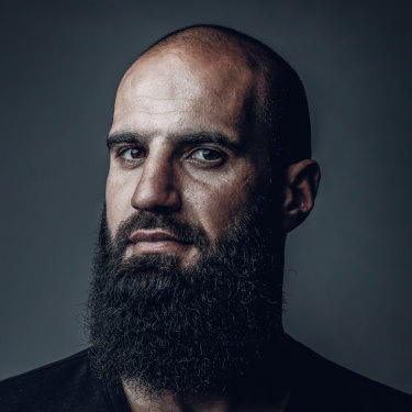 "Bachar Houli: ""I didn't think about representing this large community. But as people remind you, you start realising you're representing something greater than yourself."""