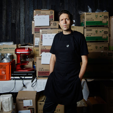 The staff room of Attica 2.0 has gone from hosting the world's most devoted foodies to delivering lasagnes, selling elaborate cakes and any number of other wild new schemes Ben Shewry can think of.