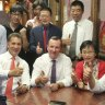 The Chinese community group, the consulate and the Labor Premier