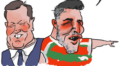 Celebrity accountant Anthony Bell's new role model for clients: Sam Burgess